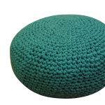 Дизайнерская мебель: вязанные пуфы